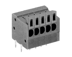 LMI 001254RA HIGH DENSITY/ LOW PROFILE HORIZONTAL/SNAP ON MODULES CONNECTOR