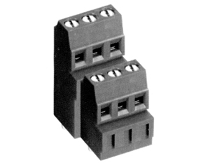 001381DT HIGH DENSITY/ LOW PROFILE SOLID MOLD CONNECTOR