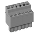 LMI 002586 INDUSTRY STANDARD PLUGGABLE TERMINAL BLOCKS WITH FRONT WIRE ACTUATION