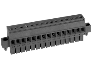 LMI 262353 HIGH DENSITY/ LOW PROFILE PLUGGABLE TERMINAL BLOCKS WITH LOCKING FLANGES