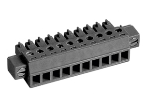 LMI  262381 HIGH DENSITY/ LOW PROFILE PLUGGABLE TERMINAL BLOCKS WITH LOCKING FLANGES