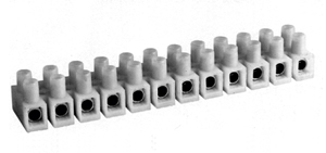 432NYLP Nylon Panel Mount Feed Through Terminal blocks