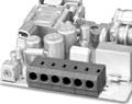 LMI 97144RP INDUSTRY STANDARD HORIZONTAL/SNAP ON MODULES CONNECTOR
