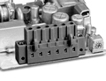 972583 INDUSTRY STANDARD WITH LOCKING FLANGES PCB HEADERS